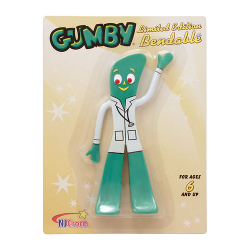 Dr. Gumby 6 inch Bendable