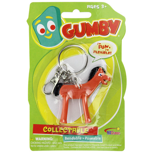 Pokey 3in Bendable Keychain