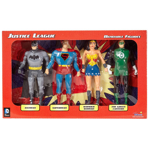 Justice League Bendable Boxed Set
