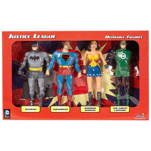 Justice League Bendable Boxed Set