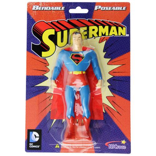 Superman Bendable Figure - Old packaging