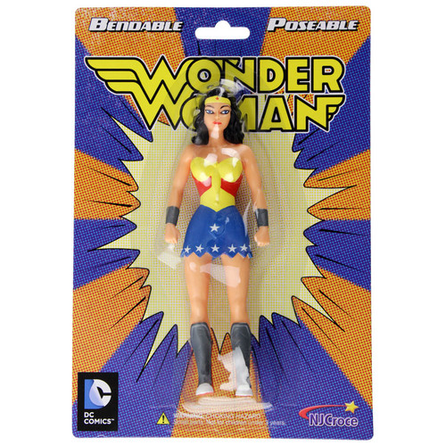 Wonder Woman Bendable Figure - Old packaging