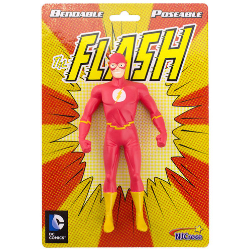 """The Flash - New Frontier 5.5"""" Bendable - Old packaging"""