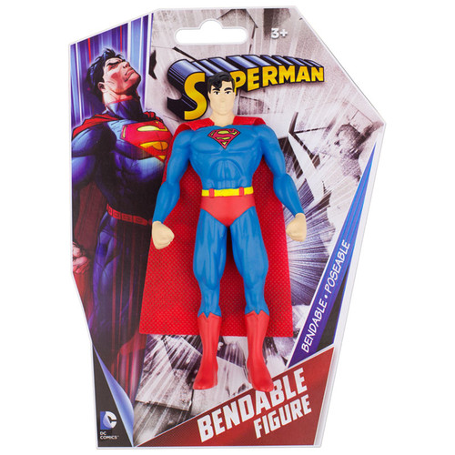 "Classic Superman 6"" Bendable"