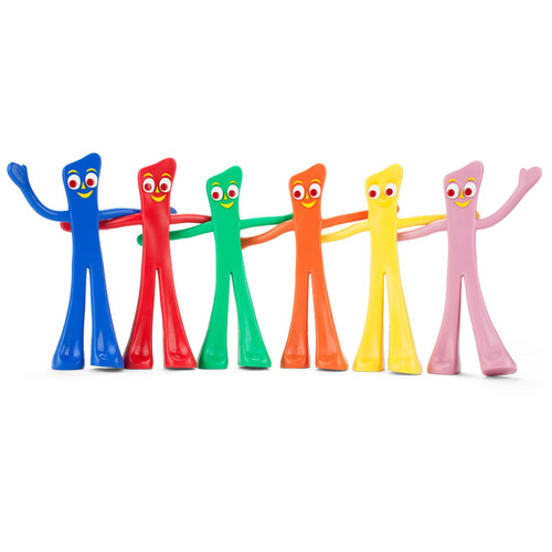 """""""Many Moods of Gumby"""" Bendable Set"""