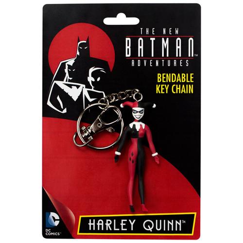 "Harley Quinn 3"" Bendable Key Chain - TNBA"