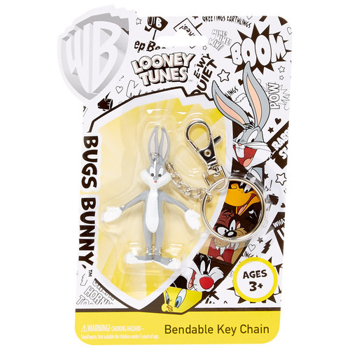 Bugs Bunny Bendable Key Chain
