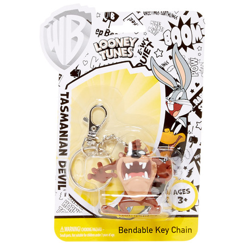 Tasmanian Devil Bendable Key Chain