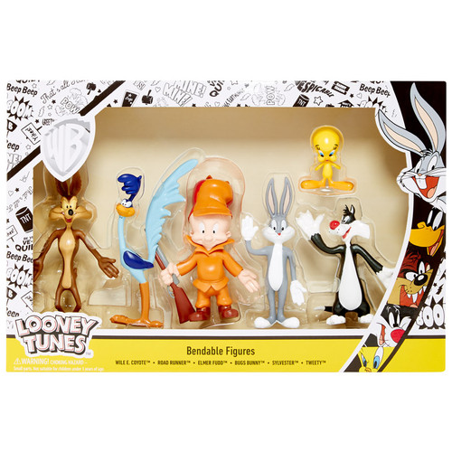 Looney Tunes 6pc Bendable Boxed Set