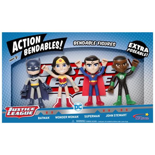 ACTION BENDALBES! - 4pc Justice League Set