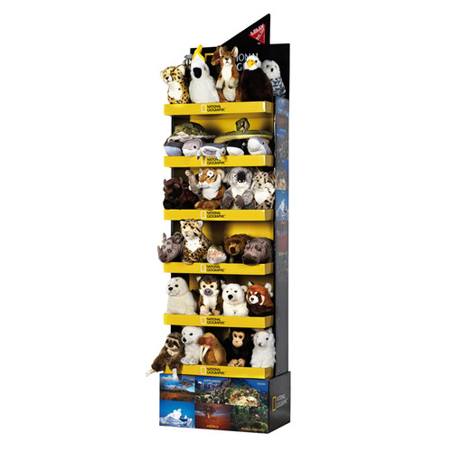 National Geographic 40 pc. Asst. with Floor Stand