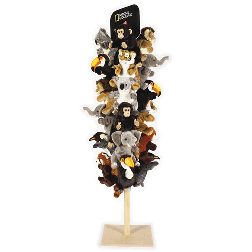 """Hand Puppets Wood Display 71"""" x 16"""""""