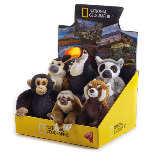 National Geographic Rain Forest Babies 6 pc. Asst.