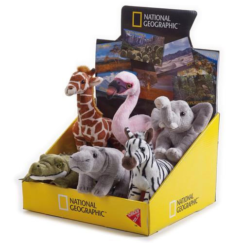 National Geographic Savannah Babies 6 pc. Asst.