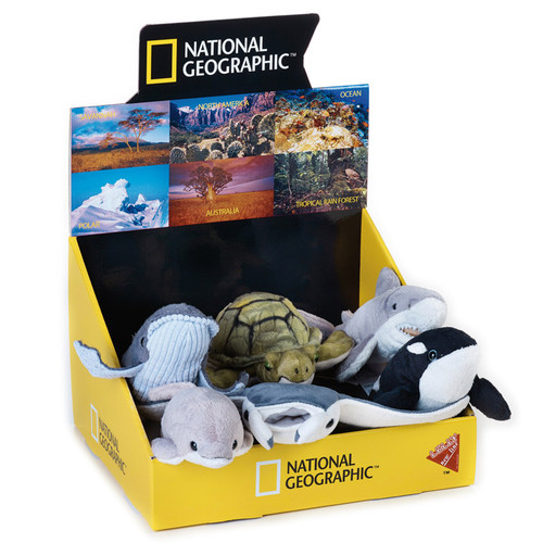 National Geographic Ocean Babies 6 pc. Asst.