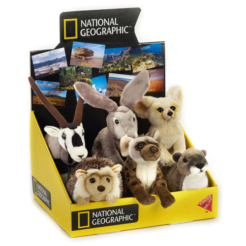 National Geographic Desert Babies 6 pc. Asst.