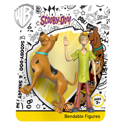 Scooby-Doo and Shaggy Bendable Pair
