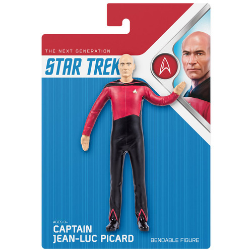 Captain Picard Bendable Figure