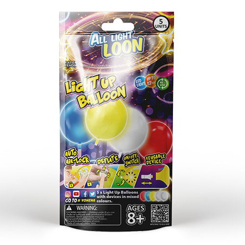 """All Light Loon"" Light Up Balloon"