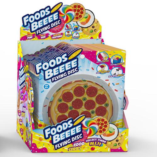 """""""Foodsbeeee"""" Silicone Frisbee"""