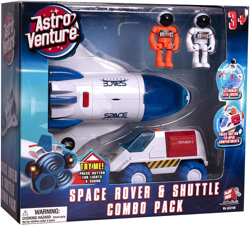 Astro Venture Space Collection: Space Shuttle and Rover Combo Pack