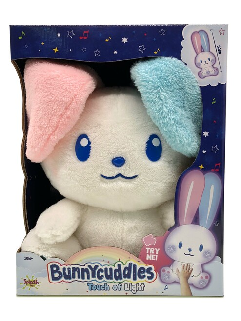 Bunnycuddles Touch of Light Interactive Plush Bunny
