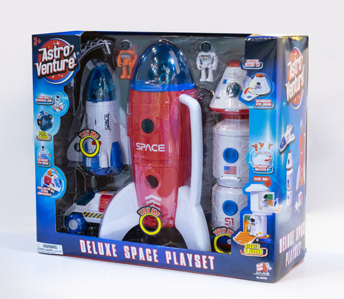 Astro Venture Deluxe Space Collection: Space Station, Rocket, Shuttle, Capsule and Rover Ultimate Playset