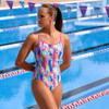 Funkita Ladies Diamond Back One Piece - Slapped On