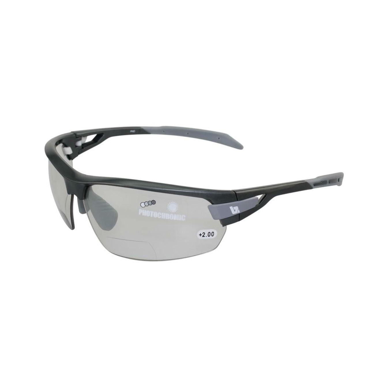 b4a72d6a86 BZ Optics Sports Sunglasses - PHO Graphite Frame - Photochromic Bi ...