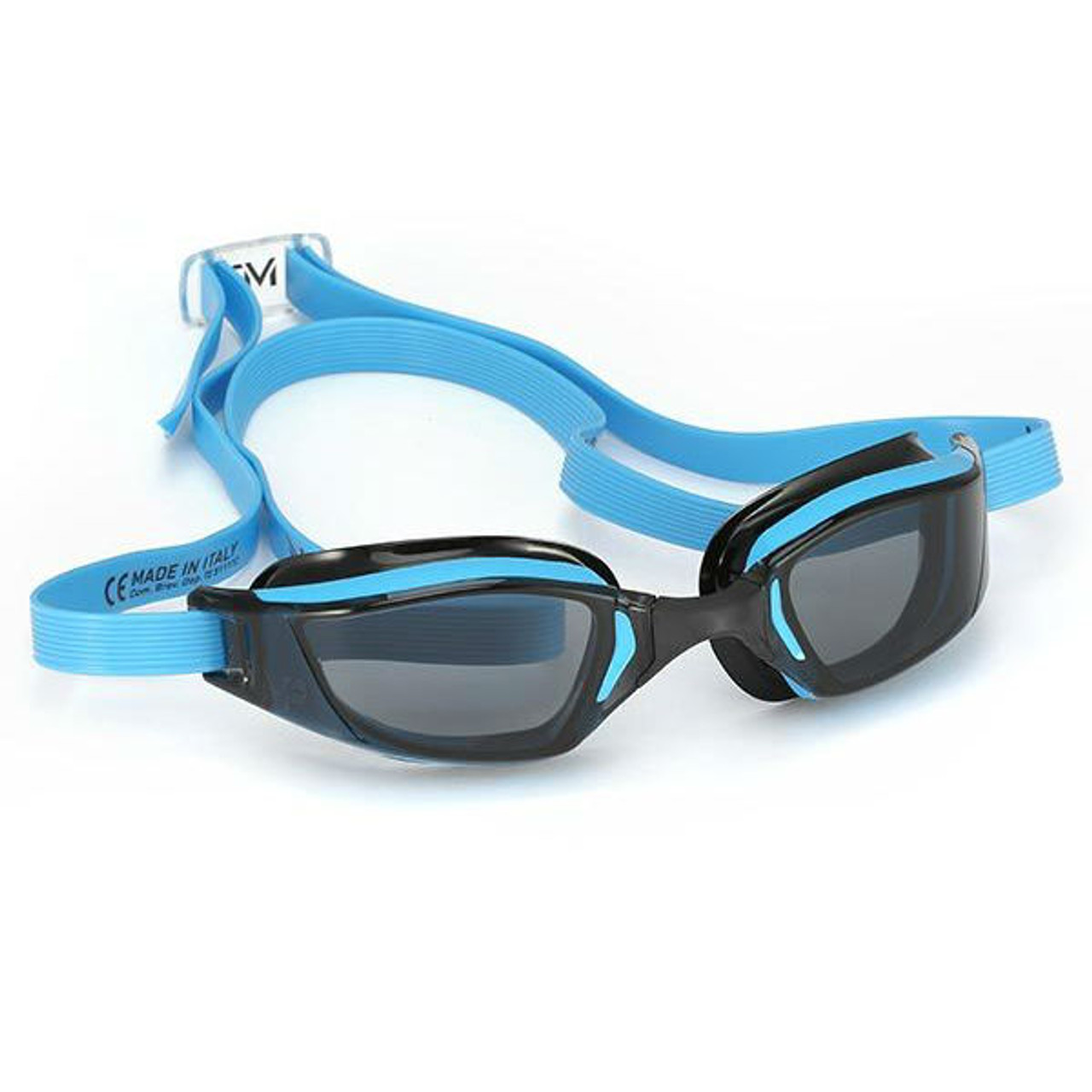 1d5c4e00a1 Aqua Sphere MP XCEED Swimming Goggles - Smoked Lens in Blue ...