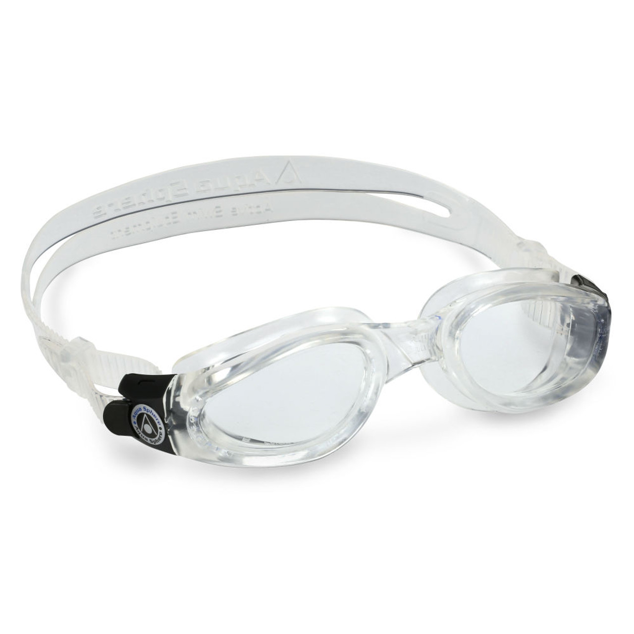 85eec4b5b84e Aqua Sphere Kaiman Swimming Goggles - Clear Lens with Clear Frame