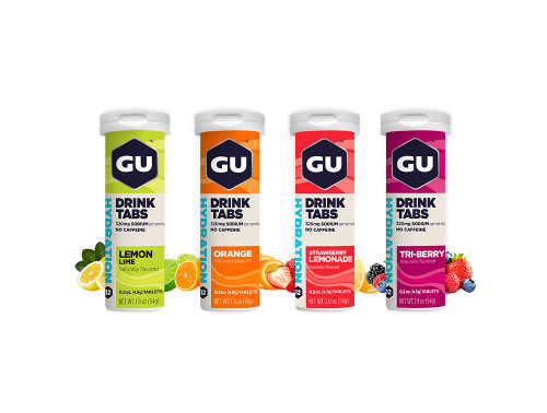 Gu Hydration Drink Tablets - 5 Great Flavours