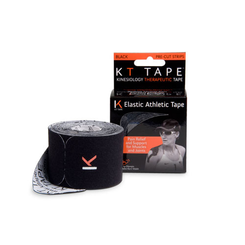 KT Tape is applied along muscles, ligaments, and tendons (soft tissue) to provide a lightweight, strong, external support