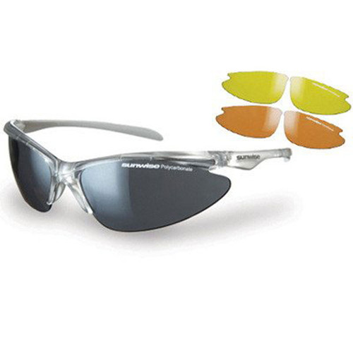 Thirst Pearl includes two sets of high definition, lightweight and shatterproof polycarbonate lenses, to ensure the very best visibility whatever the light conditions.