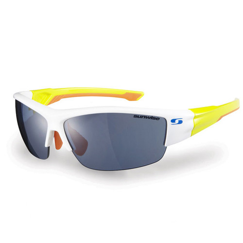 White with Yellow Feature - Clear, low, medium, strong light interchangeable lenses with each pair.