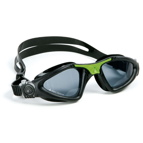 Black/Green with Tinted Lens