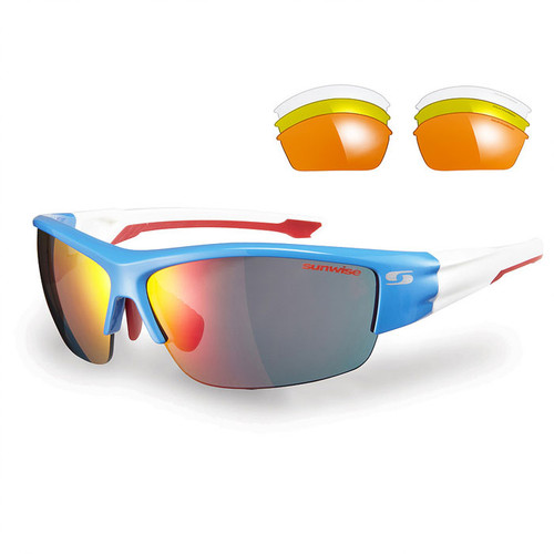 Sunwise Evenlode Sunglasses with 4 Lens - Blue
