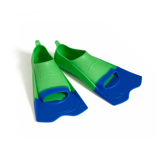 Zoggs Short Blade Fin - Green Size US 7-8