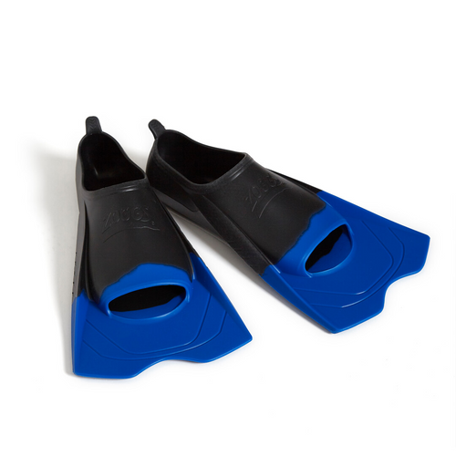 Zoggs Short Blade Fin - Black Size US 10-11