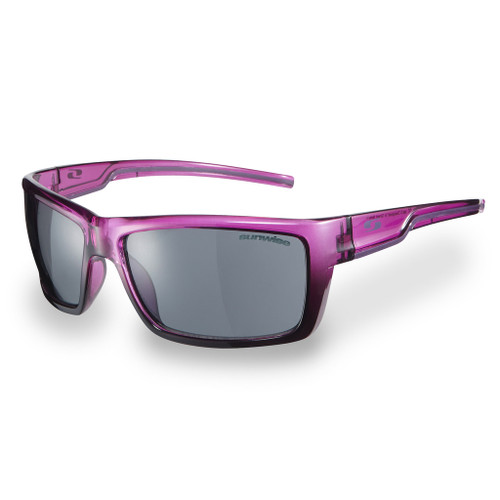 Super lightweight, flexible and secure fitting sunglasses.