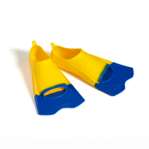 Zoggs Short Blade Fin - Yellow Size US 5-6
