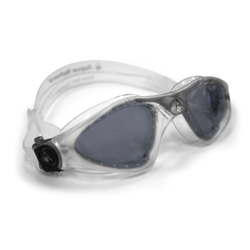Smoked lens / clear frame