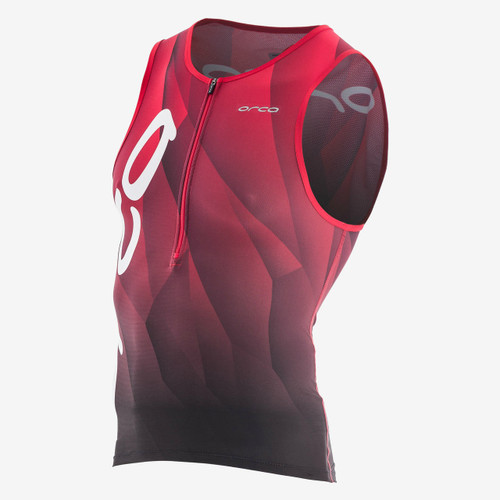 Tri Tank provides high levels of breathability and wicking.