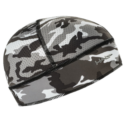 A lightweight yet effective design allows it to fit comfortably under a helmet