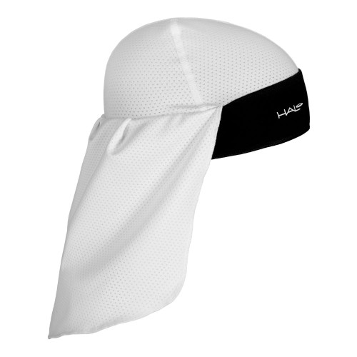 The lightweight tail is a double layer of mesh fabric providing +50 SPF sun protection