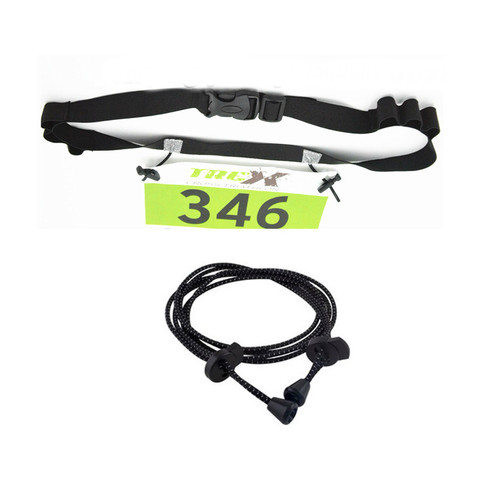 Each pack contains 1 race number belts and 1 pair of laces