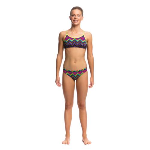 Elastic underbust and waist