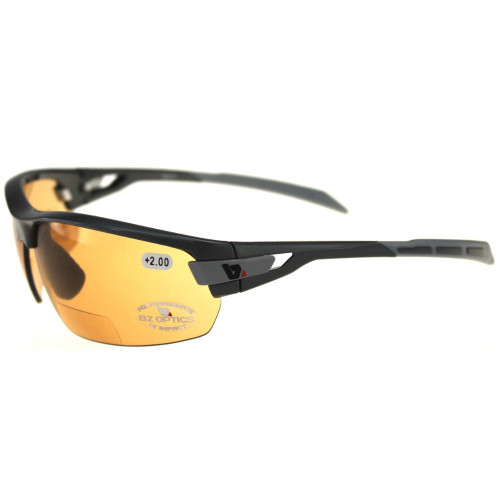 Lens will change from Cat1 light amber pre-dawn or low light to dark amber Cat3 as the sun intensifies and the UV increases.