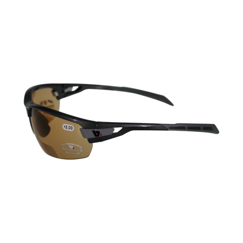 BZ Optics - PHO Black Frame - High Definition Photochromic Bi Focal Lens