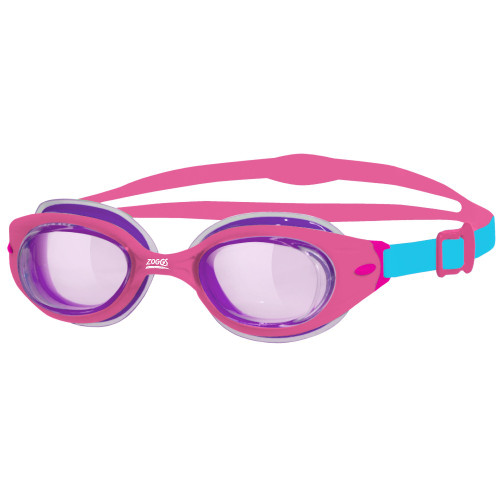 Zoggs Kids Little Sonic Air Goggle - Pink/Blue & Pink /Tint